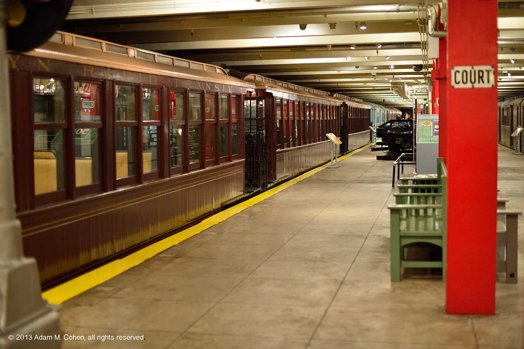A Visit to the New York Transit Museum