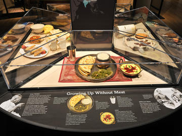 The American Museum of Natural History Shows Us That We Are Indeed What We Eat