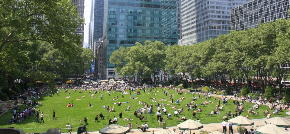 Bryant Park Plays Host to a Festive Outdoor Party All Year Round