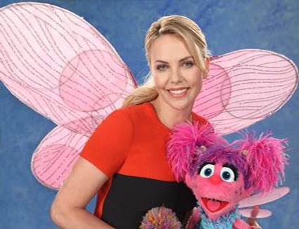 Sesame Street Celebrates Season 44 with Charlize Theron