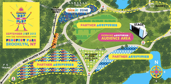 Nickelodeon World Wide Day of Play takes over Prospect Park