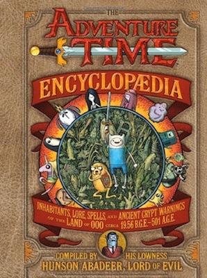 The Adventure Time Encyclopaedia New York Comic Con Tour