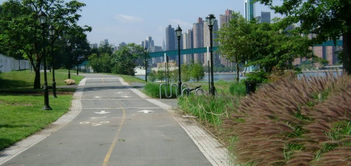 Getting to Randall's Island on Two Wheels