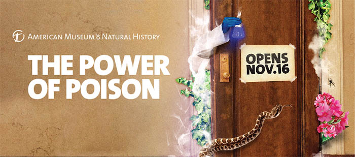 The Power of Poison Opens at the American Museum of Natural History