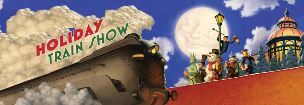 Take a Ride aboard the 'The Holiday Train Show' at the NY Botanical Garden