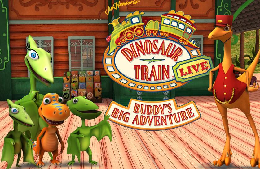 Enjoy Thanksgiving Weekend 2013 with Jim Henson's Dinosaur Train Live
