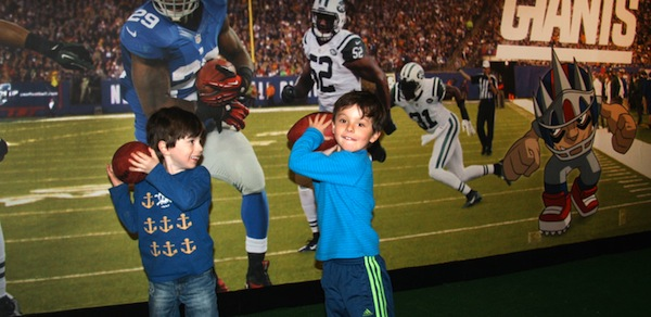 CMOM gets NYC Kids Pumped for Super Bowl XLVIII