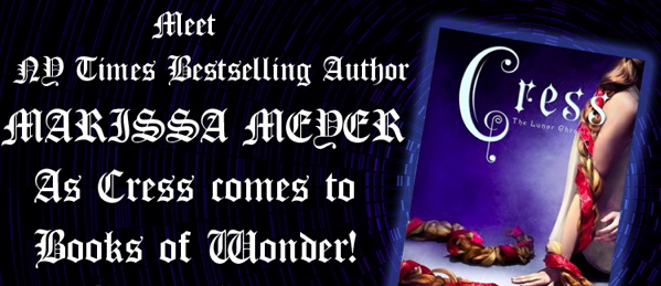 Author Q/A and Signing: Marissa Meyer brings 'Cress' to Books of Wonder