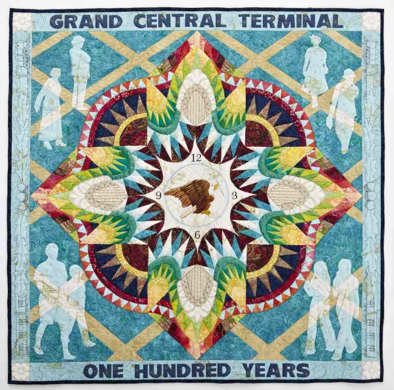 Grand Central Quilt Celebration Sparks Transit Museum 'Quilting Bee'