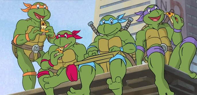 Teenage Mutant Ninja Turtles Reunion Episode for 80's Parents