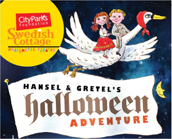 Halloween Fun with Strings Attached at Hansel and Gretel's Halloween Adventure