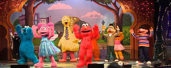 Make a Friend with Sesame Street for Winter Recess