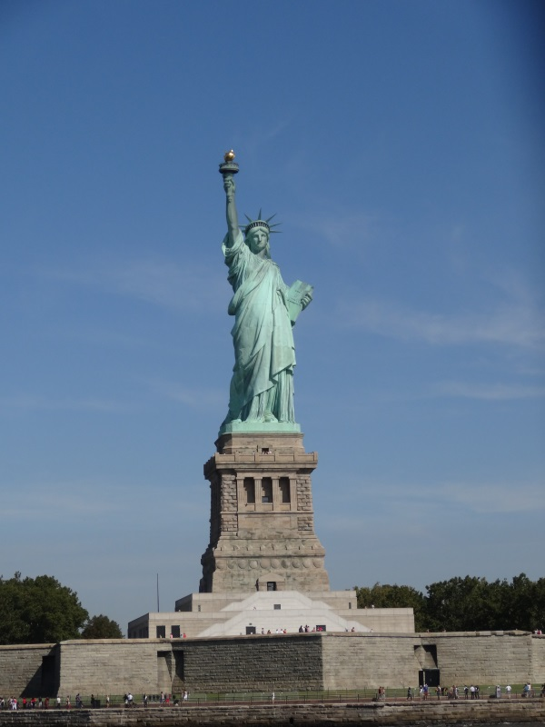 Visiting The Statue of Liberty and Ellis Island