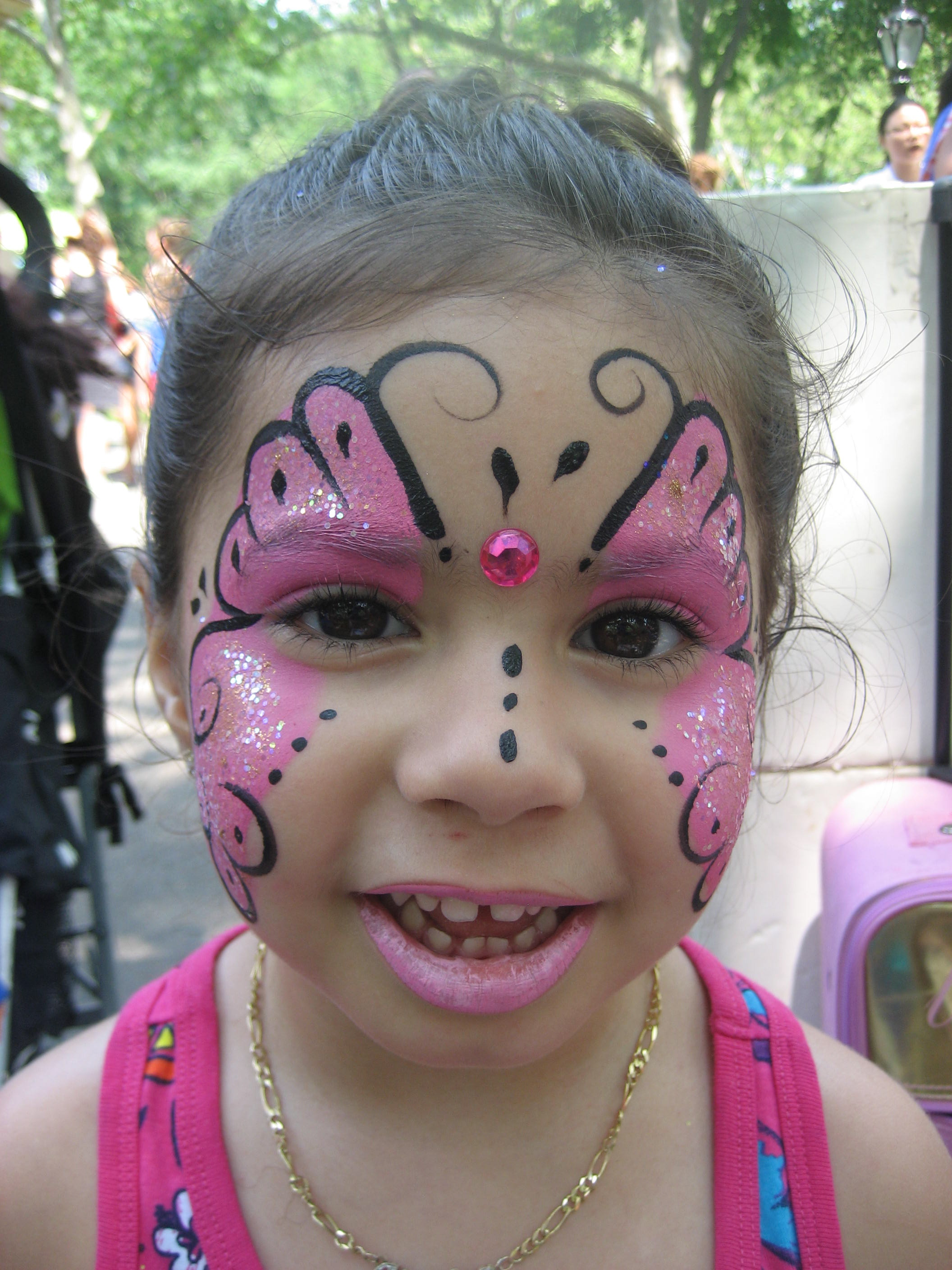 Igokids children 39 s parties nyc new york city new for Face painting for parties