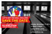 5th Annual Strike Out Pediatric Cancer PCF Bowlathon