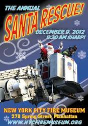 NYC Fire Museum Annual Santa Rescue