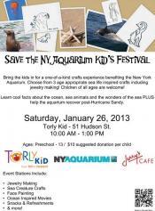 Save the NY Aquarium Kid's Festival