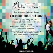 Mil's Trills 3rd Annual Winter Bash