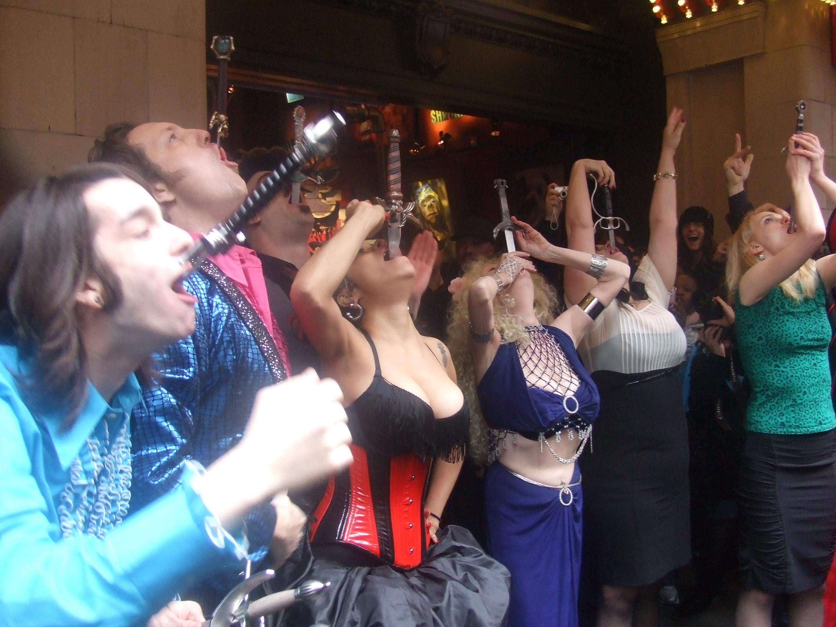 Ripley's Believe It or Not! Celebrates World Sword Swallowers Day