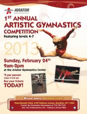 Aviator 1st Annual Artistic Gymnastics Competition