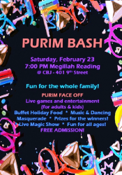 Purim Bash