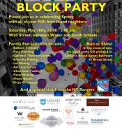 FiDi Spring Community Day Block Party