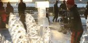 I Heart Ice Sculpture