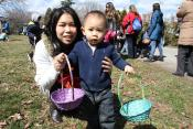 The Easter Egg Hunt is on in NYC