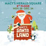 Macy's Santaland