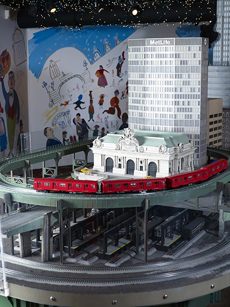 14th Annual Holiday Train Show at Grand Central