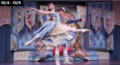 New York Theatre Ballet Performing Keith Michael's The Nutcracker