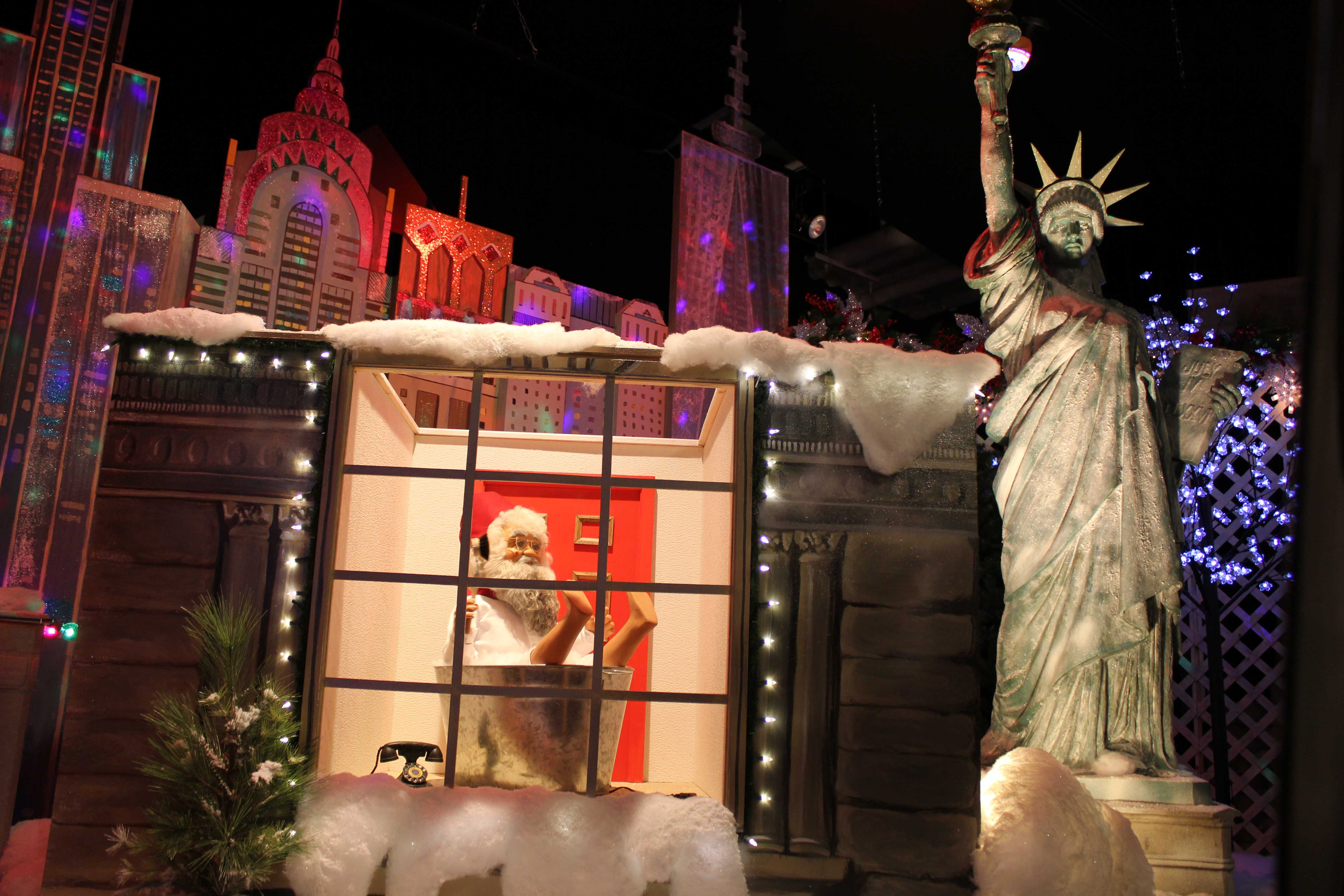 Christmas Village in NYC