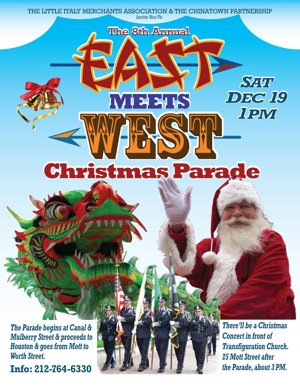 East Meets West Christmas Parade